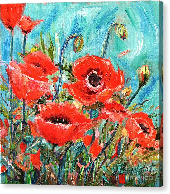Poppies Delight Canvas Print