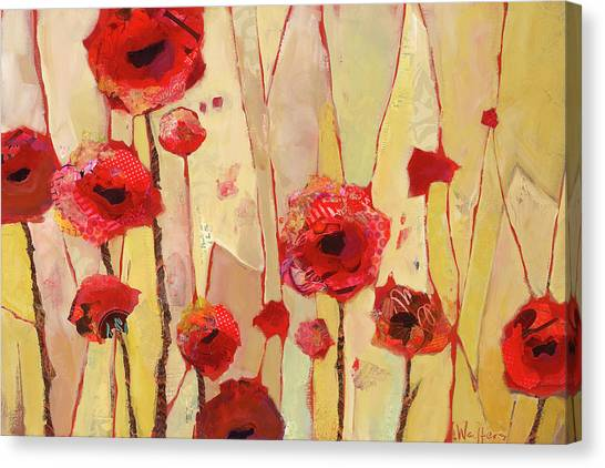 Poppy Crush Canvas Print