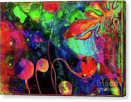 Poppy Enchantment Canvas Print