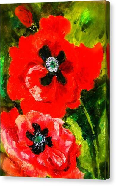 Poppy Season Canvas Print
