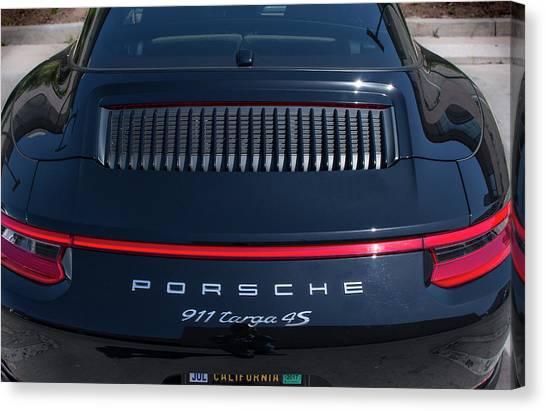 Porsche 911 Targa 4s Canvas Print