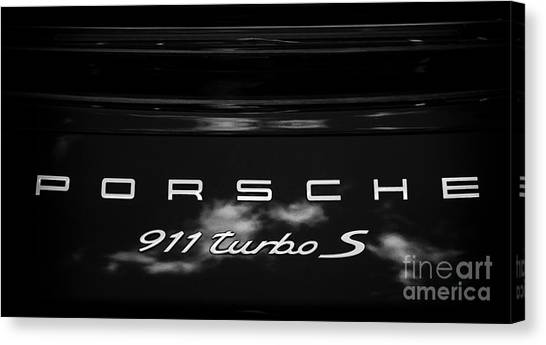 Porsche 911 Turbo S Canvas Print