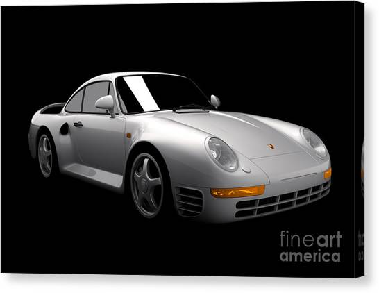 Porsche 959 Canvas Print