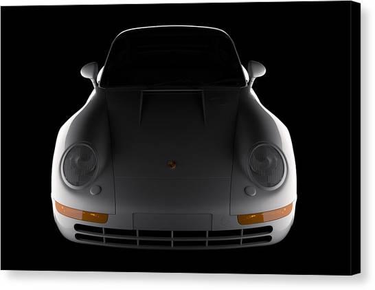 Porsche 959 - Front View Canvas Print