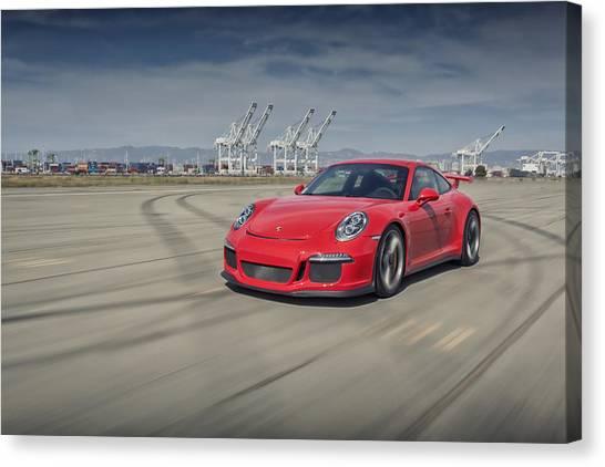 Porsche 991 Gt3 Canvas Print