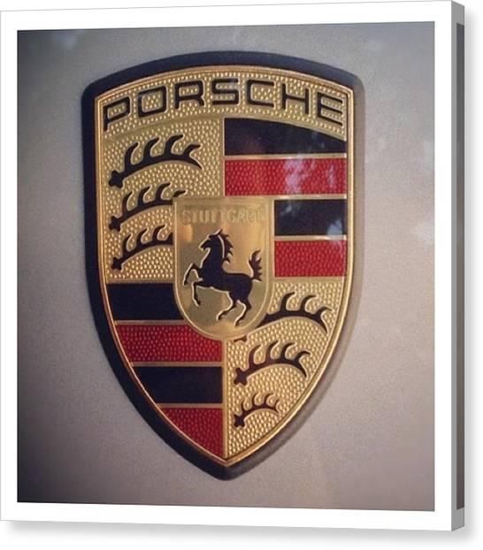 Porsche Canvas Print - Porsche by Diego Jolodenco