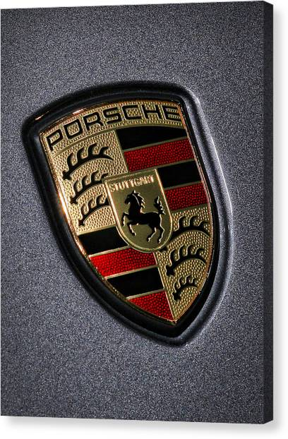 European Canvas Print - Porsche by Gordon Dean II