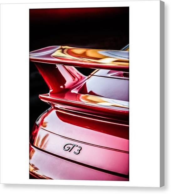 Porsche Canvas Print - Porsche Gt3. #carphotographer #porsche by Jill Reger