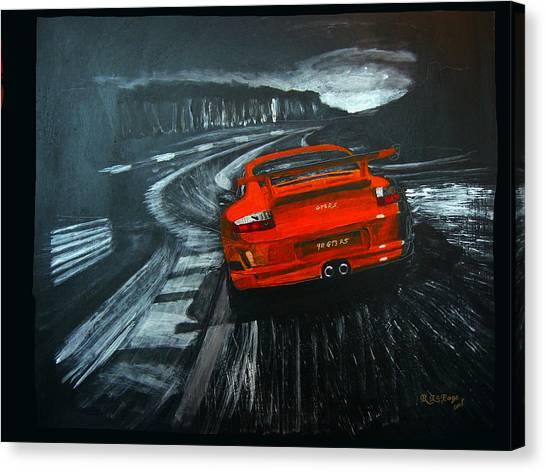 Porsche Gt3 Le Mans Canvas Print