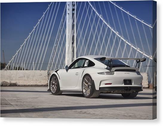 Porsche Gt3rs Canvas Print