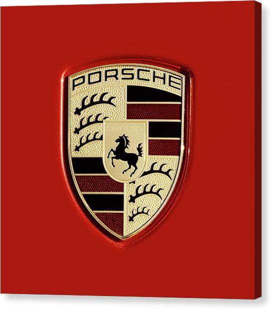 Porsche Power Red 111216 Canvas Print