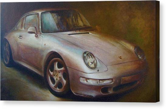 Classe Canvas Print - Porsche by Vali Irina Ciobanu