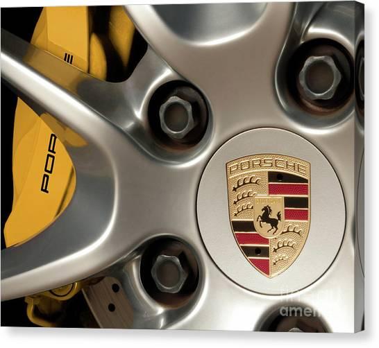 Porsche Wheel Detail #2 Canvas Print