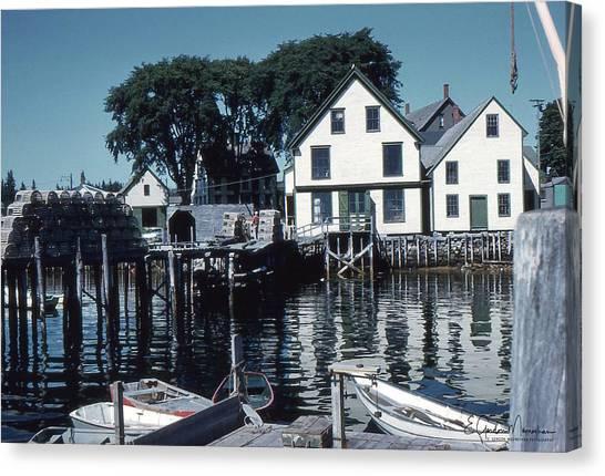 Port Clyde Maine Canvas Print