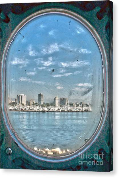 Port Hole  Canvas Print