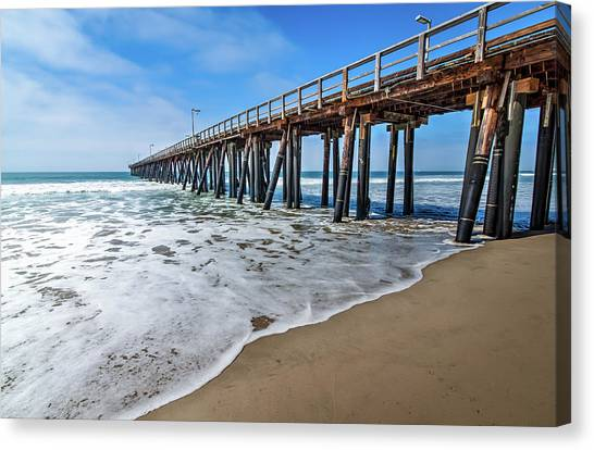 Port Hueneme Fishing Pier Canvas Print