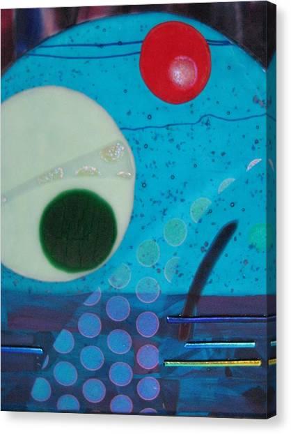Portal Canvas Print by Mark Lubich