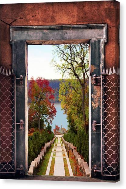 Portal Canvas Print - Portal To Autumn by Jessica Jenney