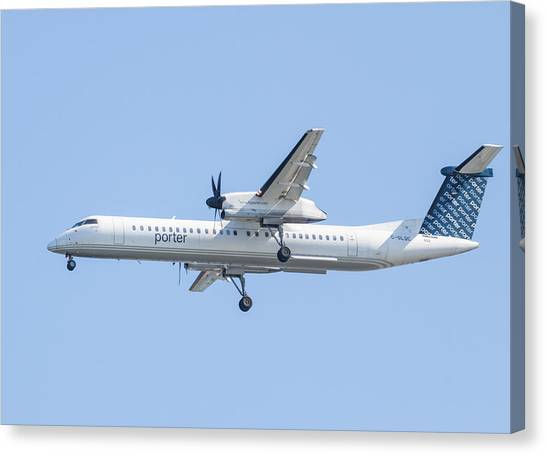 Porter Airlines Canvas Print