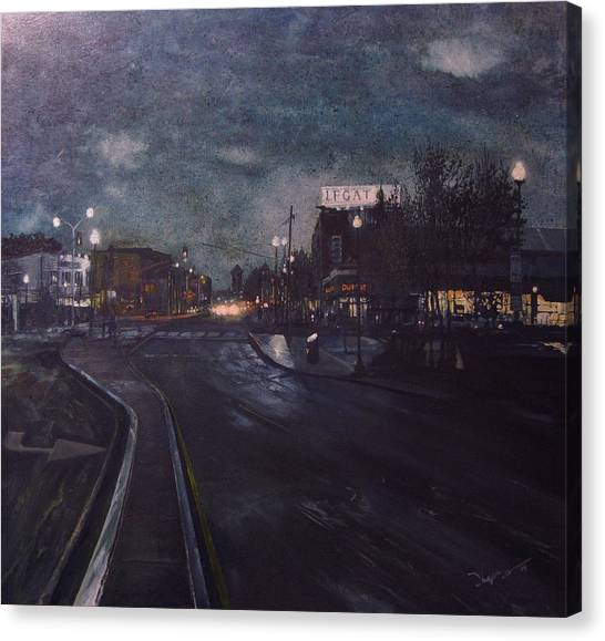 Porter Square Canvas Print by Richard Ong