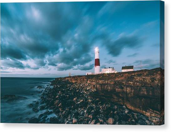 Portland Bill Dorset Canvas Print