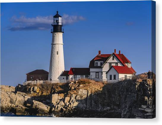 Portland Head Light No. 43 Canvas Print