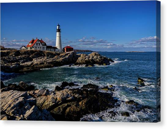 Portland Head Light No.32 Canvas Print