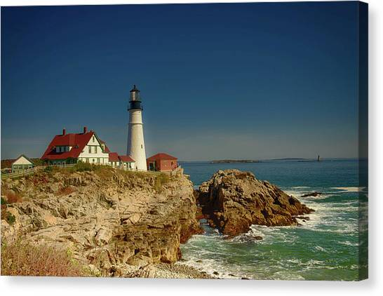 Portland Head Lighthouse 2 Canvas Print