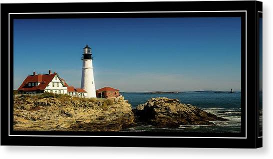 Portland Head Lighthouse 7 Canvas Print