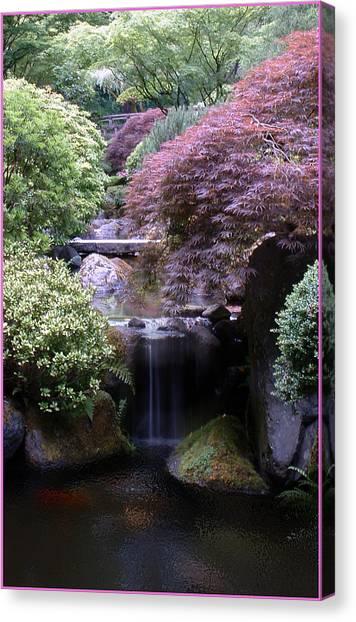 Portland Japanese Garden Canvas Print