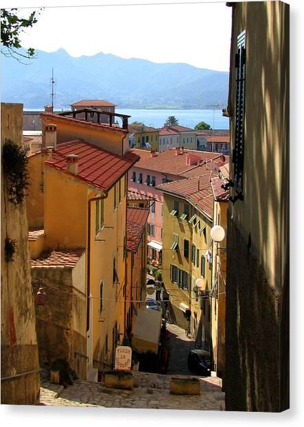 Portoferraio Elba Canvas Print