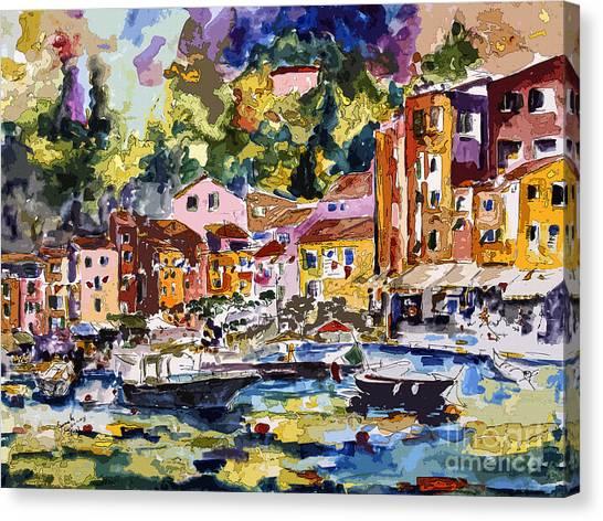 Portofino Italy Bella Italia Canvas Print