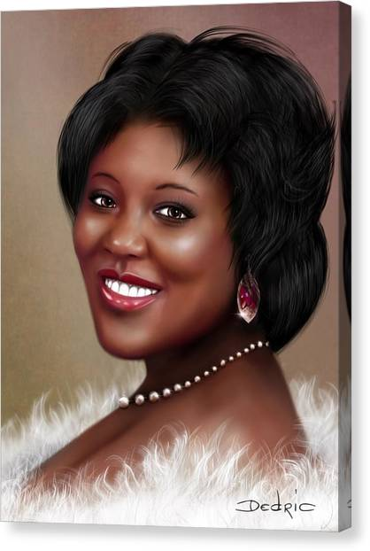 Portrait Commision  Canvas Print