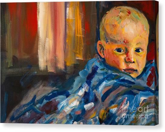 Portrait For A Mother Canvas Print