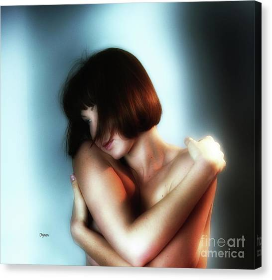 Portrait In Sensuous  Canvas Print by Steven Digman