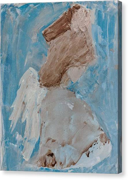 Portrait Of An Angel Canvas Print