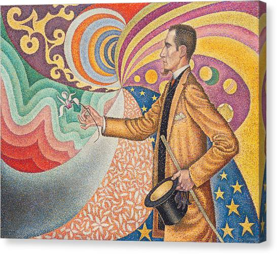 Divisionism Canvas Print - Portrait Of Felix Feneon by Paul Signac