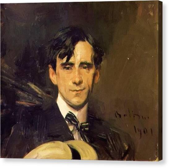 Goursat Canvas Print - Portrait Of Sem Georges Goursat 1901 by Boldini Giovanni