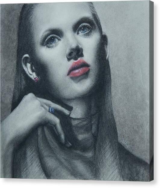 Portrait Study Canvas Print
