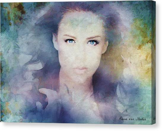Portrait38 Canvas Print