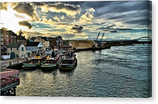 Portsmouth Harbor Canvas Print