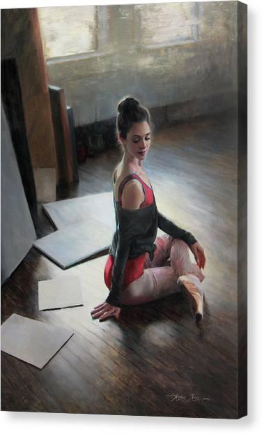 Possibilities Await Canvas Print by Anna Rose Bain