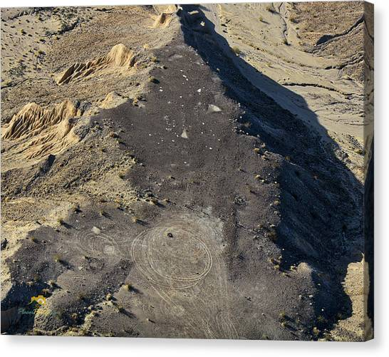 Canvas Print featuring the photograph Possible Archeological Site by Jim Thompson
