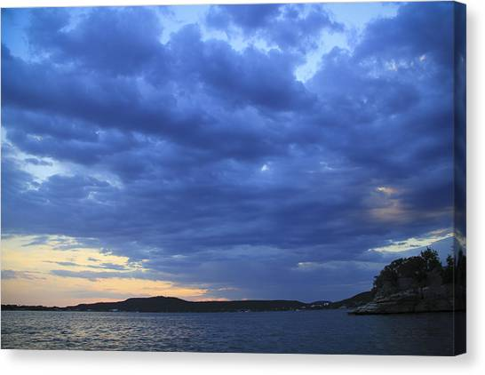 Possum Kingdom Blue Canvas Print