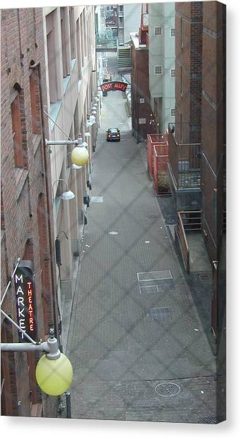 Post Alley Canvas Print by Rick Repp