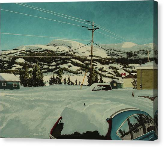 Post Hill Canvas Print