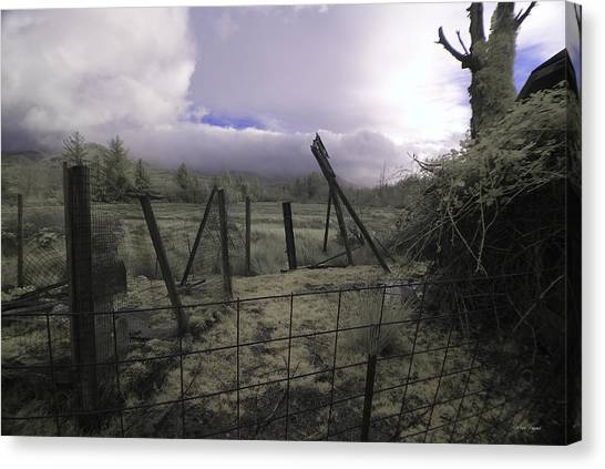 Canvas Print featuring the photograph Post Storm by Chriss Pagani