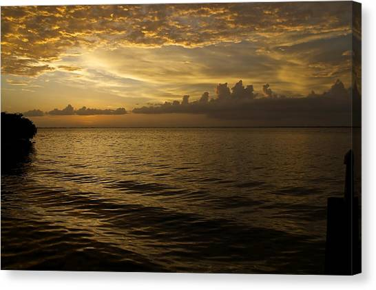 Post Sunset Bliss Canvas Print by Christin Walton