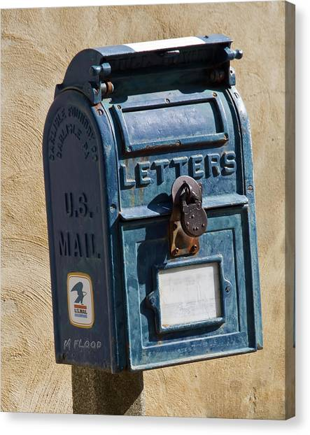 Postbox 61419 Canvas Print