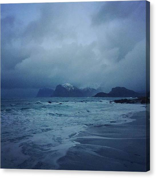 Sublime Canvas Print - Norway.  by Maria Dorothea Schrattenholz